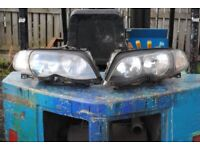 BMW E46 Facelift Touring Saloon Headlights Head Lights Indicators