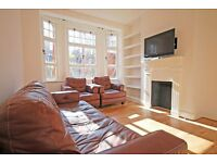 2 or 3 double bedroom apartment with separate kitchen & large windows,in period, portered building.