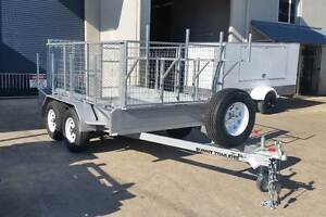 NEW 3000KG RATED BUILDER TRAILER 10 X 6 GALVANISED STEEL Glass House Mountains Caloundra Area Preview