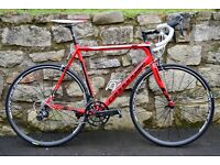 2016 CANNONDALE SUPERSIX EVO FULL CARBON ROAD RACING BIKE. ULTEGRA 22. SUPERB CONDITION. COST £1950+
