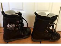 Men's Rome SDS Snowboard Boots Size UK 8.5 Eur 42.2/3