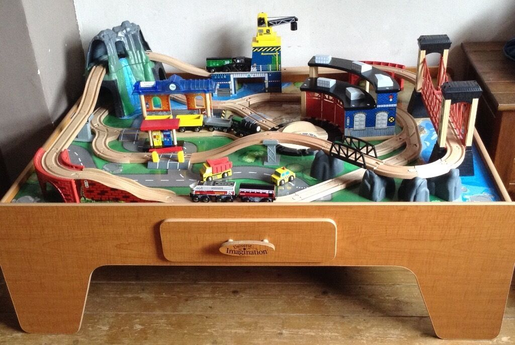 Universe of Imagination Mountain Rock Train Table as new | in Exeter ...