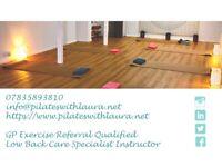 Adult Beginner Pilates classes in Fareham