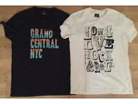 Two brand new men's Tommy Hilfiger large T-shirts. Authentic. RRP £40 each