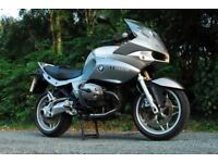 BMW R1200ST 2005 with hard panniers - fantastic for touring, commuting or weekend rides