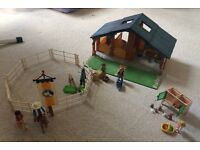 Playmobil Stable and other pieces