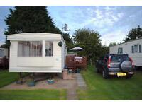 Beautiful caravan to rent Skipsea Sands ParkDean Resort near Bridlington, Hornsea