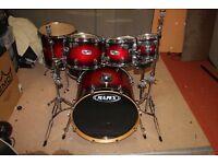 7 Piece Mapex Fusionese Drum Kit