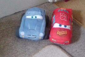 2 Cars Plush Toys