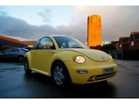 VW Volkswagen Beetle Yellow 2001 - Runner/Spares or Repair - MOT OCTOBER 2018
