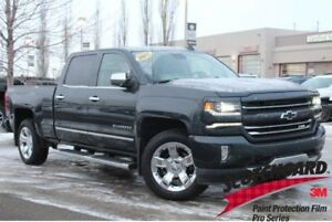 2017 Chevrolet Silverado 1500 2LZ Z71| Sun| Nav| H/C Leath| Heat