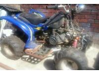 150cc Road Legal quad 2007 wonjan