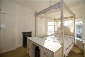 French antique style hardwood bedroom set MUST SELL ASAP £700 ONO