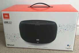 BNIB JBL Link 300 Google Assistant Speaker RRP £249.99