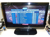 "Sharp Aquos LC-26D44E-BK LCD 26"" LCD TV (with stand and remote)"