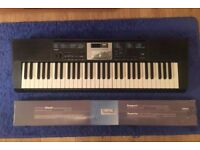 Barely used Casio LK-170 Full Size Lighting Keyboard and Stand