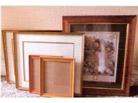 PICTURE FRAMES VARIOUS SIZES