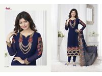 Asian designer Bollywood suits and dresses best quality best reasonable prices grab it