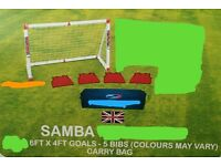 Samba football goal 🥅 garden furniture and patio,new.