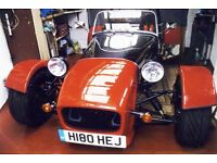 For Sale, Newly built GBS Zero. Lotus 7 style kit car / sports car.