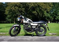 LEXMOTO VALIANT 125cc. Cafe Racer. Like new, only 560km. Just serviced!