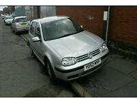 BREAKING VW GOLF MK4 SDI 1.9 5 DOOR MANUAL LA7W SILVER 2002