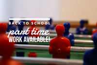 Student Work Positions – Part Time / Full Time / Fall Position
