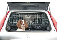 Dog Guard Universal Car Headrest Travel Mesh Grill Pet Safety Barrier Adjustable - No Box