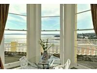 Stunning sea views come with this coastal apartment