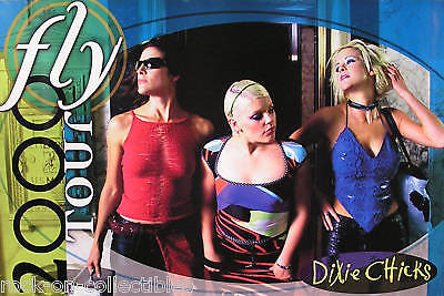 DIXIE CHICKS 2000 FLY TOUR PROMO POSTER ORIGINAL