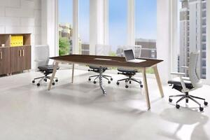 8FT BOAT SHAPE CONFERENCE TABLE