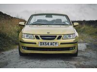 Saab, 9-3, Convertible, 2004, Manual, 1998 (cc), 2 doors