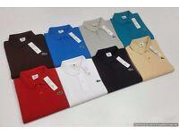 Lacoste Men's polo T-Shirt Wholesale Only.