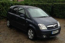 Vauxhall Meriva 1.6 5 door MPV.MOT until 20th Sept 2018.Excellent condition throughout. FSH.