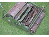 Vintage JP Maxees Mk3 push lawnmower