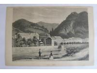 """"""" Rheinansichten """" Antike Stahlstich um 1840 Nordrhein-Westfalen - Fröndenberg (Ruhr) Vorschau"""