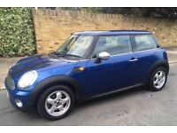 2008 MINI ONE 1.4 PANORAMIC ELECTRIC ROOF LEATHER TRIM AIR CONDITIONING ONE FORMER OWNER MINI 1.4