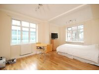 SELF CONTAINED MODERN STUDIO flat, WOOD FLOORS, LOTS OF NATURAL LIGHT, SEPARATE KITCHEN