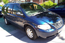 ** AUTO ** 7 SEATS ** T/DIESEL ** 55 REG CHRYSLER GRAND VOYAGER 2.8CRD LIMITED XS