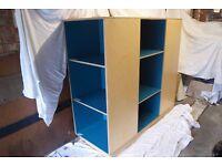 Good Quality - Bespoke Cupboard Storage Shelving Unit (BLUE)