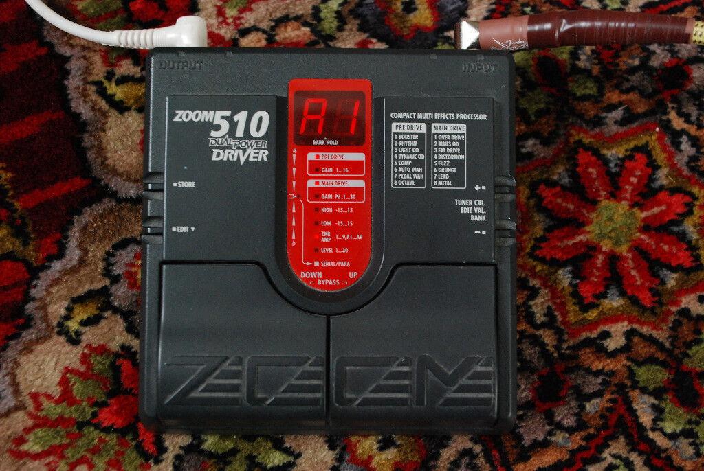 ZOOM 510 overdrive/distorsion
