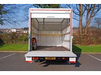 Man and Luton Van Removal Service 24/7 available on short notice