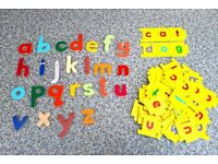 Link n Spell letters & Wooden letters