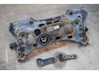 VW VOLKSWAGEN GOLF R MK7 FRONT SUBFRAME CRADLE & SUPPORT BRACKETS 5Q0199315R