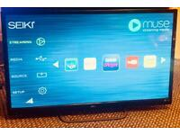 """32"""" seiki smart tv with wifi possible delivery."""