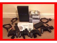 SONY PS2 AND GAMES FOR SALE - PLAYSTATION 2