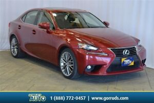 2015 Lexus IS 250 PREM PKG/AWD/HEAT STEERING/COOLED SEATS/NEW TI