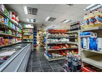 OFF LICENCE GROCERY NEWSAGENTS READING, BERKS 1900 SQ FT FRONT/REAR ACCESS WITH 2 BED FLAT & GARAGE