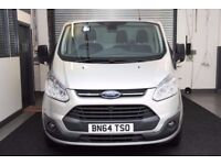 2014 Ford TRANSIT CUSTOM 2.2 270 TREND L1H1 PANEL VAN BLUETOOTH, PARKING AID, CRUISE