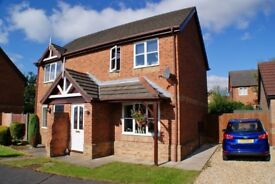 REDUCED!! Cul-De-Sac, 2 bed house, uphill Lincoln (600 PCM) AVAILABLE NOW, MUST GO ASAP